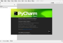 PyCharm 2020.1.3 汉化特别版