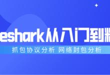 Wireshark协议分析抓包从入门到精通