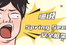 Spring Security安全框架视频课程