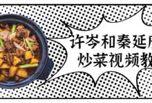 许岑和秦延庆炒菜视频教程