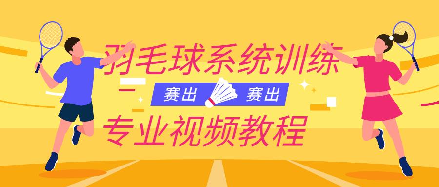 羽毛球系统训练课程